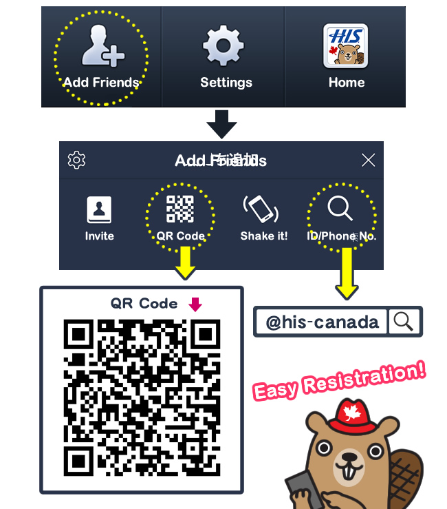 how to add canadian business to manta