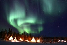 Winter Aurora Yellowknife 3N4D  [Vancouver⇔Yellowknife Flight Package]