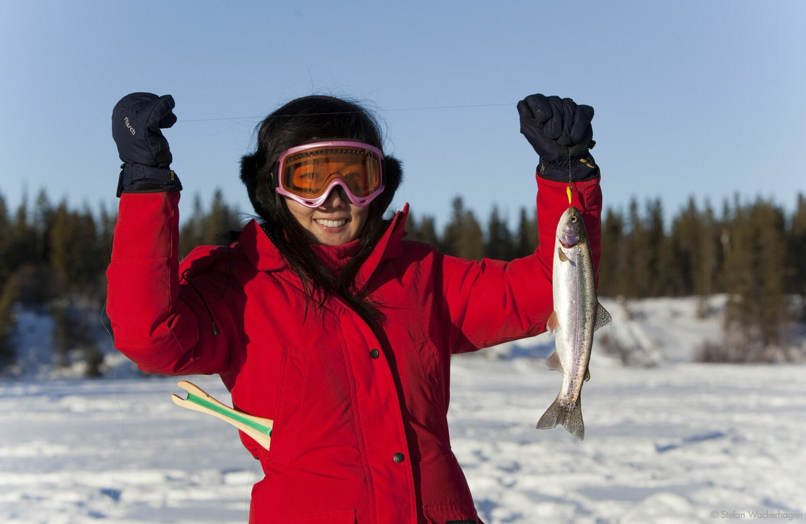 Ice Fishing and Snowshoe Tour
